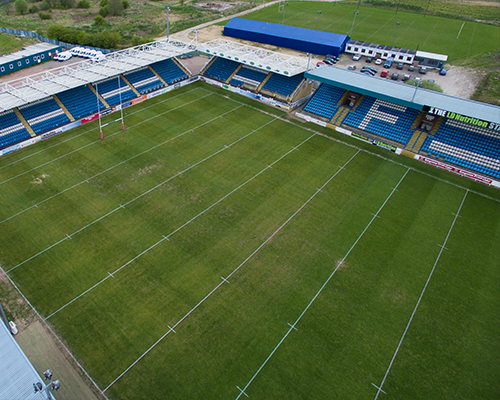 Aerial Photography - Brook House Digital Agency - Featherstone Rovers