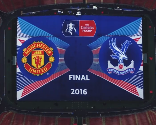 Aerial Photography - Brook House Digital Agency FA Cup Final Wembley